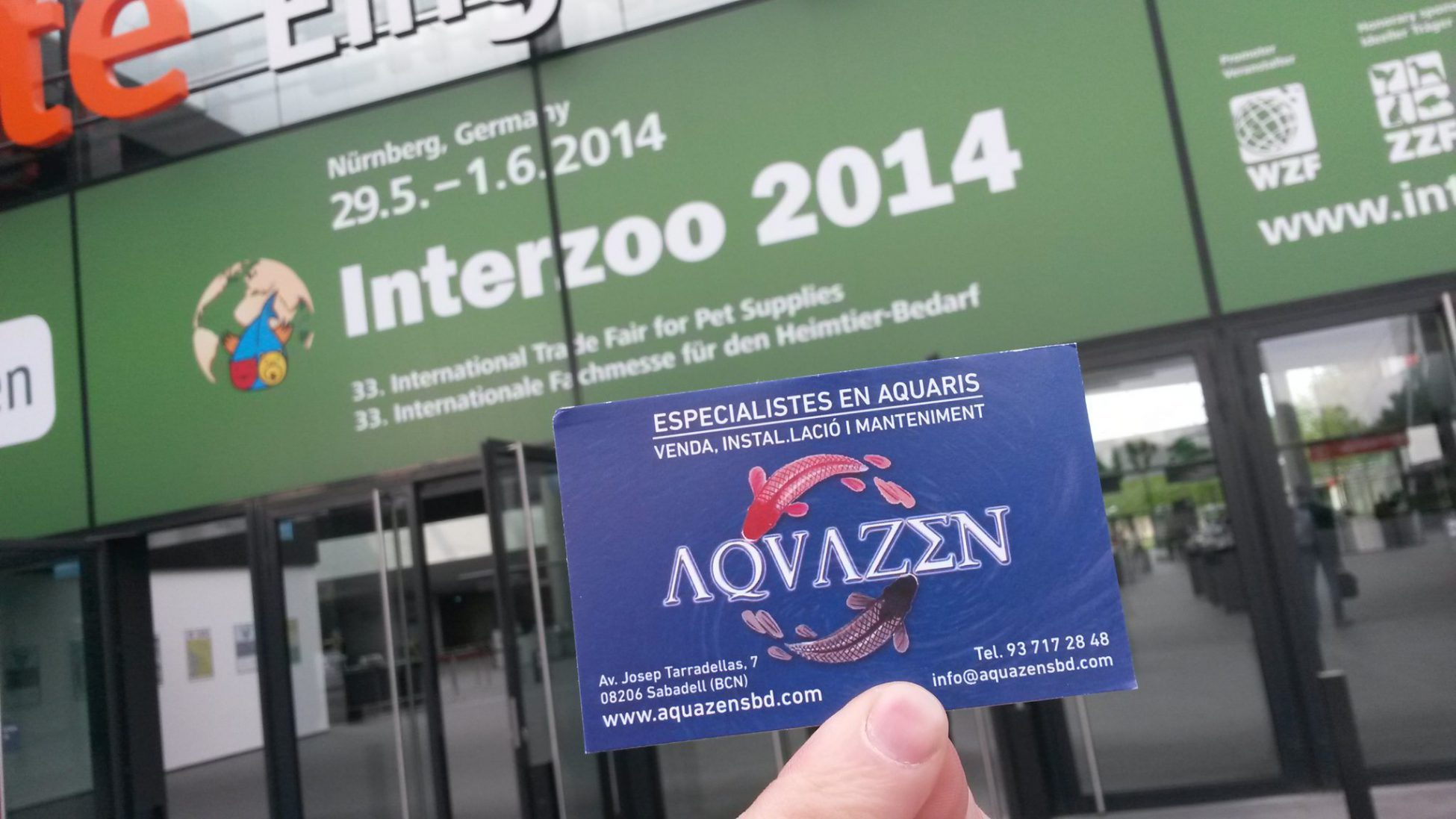 Interzoo 2014 por AQUAZEN