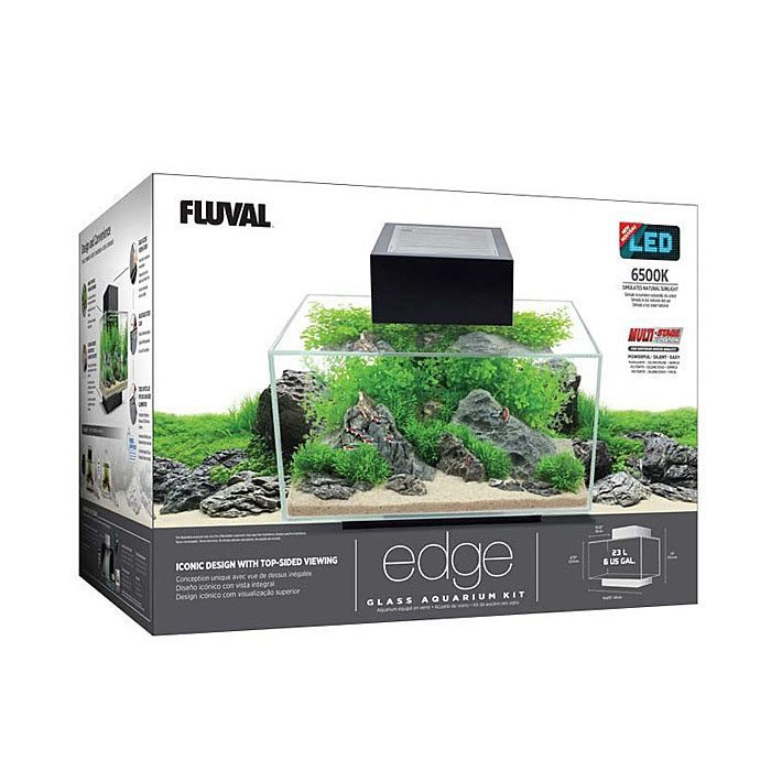 Acuario Fluval Edge 23L caja