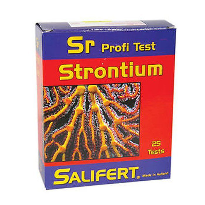 Test Estroncio Salifert para agua marina