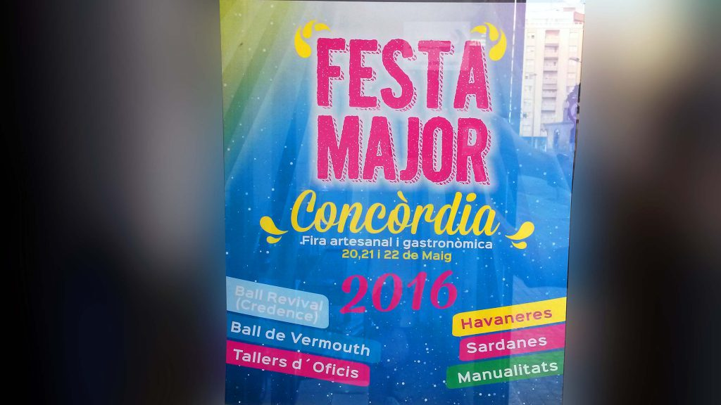 Cartel Fiesta Mayor Concordia