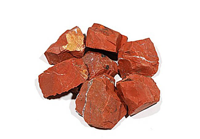 Roca Jasper rojo