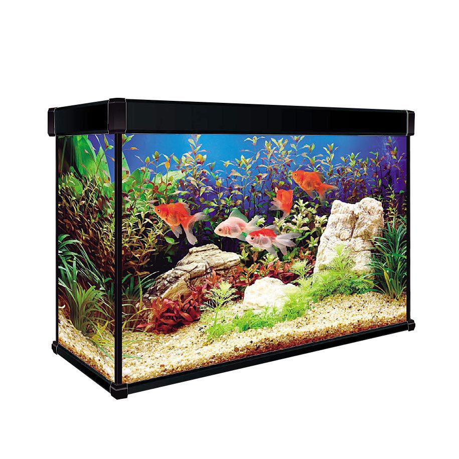 Acuario aqualux pro 120l aquazen for Red para peces de acuario